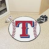 Baseball Floor Mat - Texas Rangers