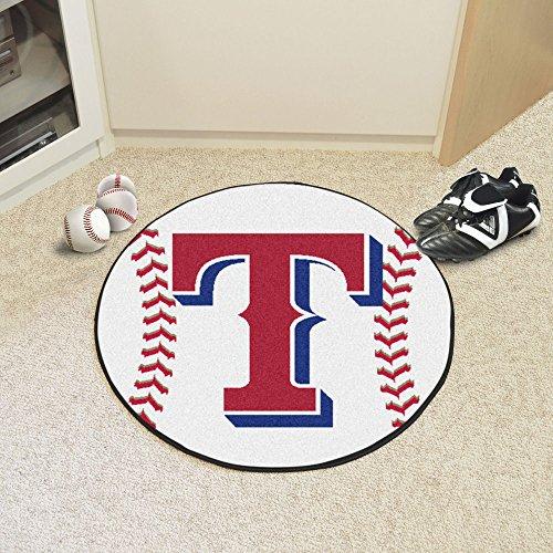 Texas Rangers Baseball Rug - 8