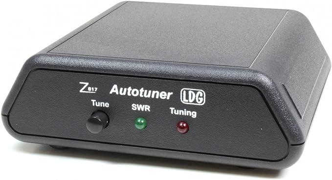 ldg Electronics z-817 automática sintonizador de antena 1.8 – 54 MHz, 0,1 – 20 vatios, 2000 recuerdos, 2 años de garantía