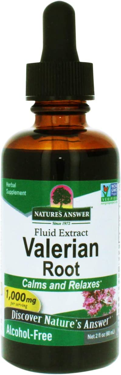 Nature's Answer Alcohol-Free Valerian Root, 2-Fluid Ounces