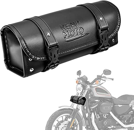 Windshield Bag Motorcycle Front Handlebar Fork Storage Container Car Bicycle