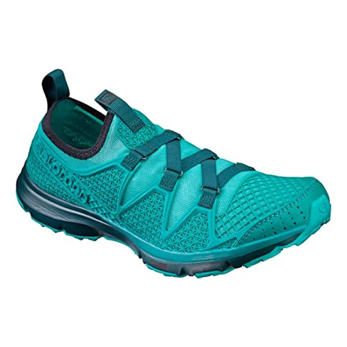 Salomon Crossamphibian W, Zapatillas de Trail Running para Mujer, (Ceramic Peacock Blue/Deep Teal), 38 EU: Amazon.es: Zapatos y complementos