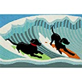 Liora Manne FT012A51504 Whimsy Water Canine Rug, Indoor/Outdoor, Scatter Size, Ocean