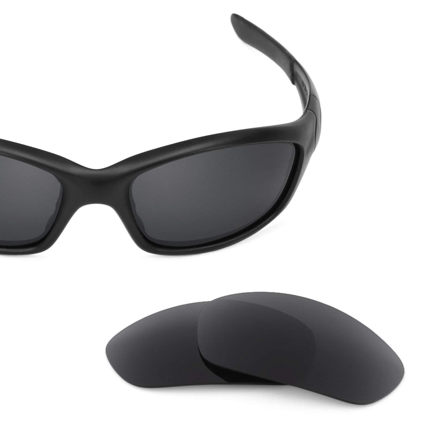 Revant Polarized Replacement Lenses for Oakley Straight Jacket (2007) Elite Stealth Black