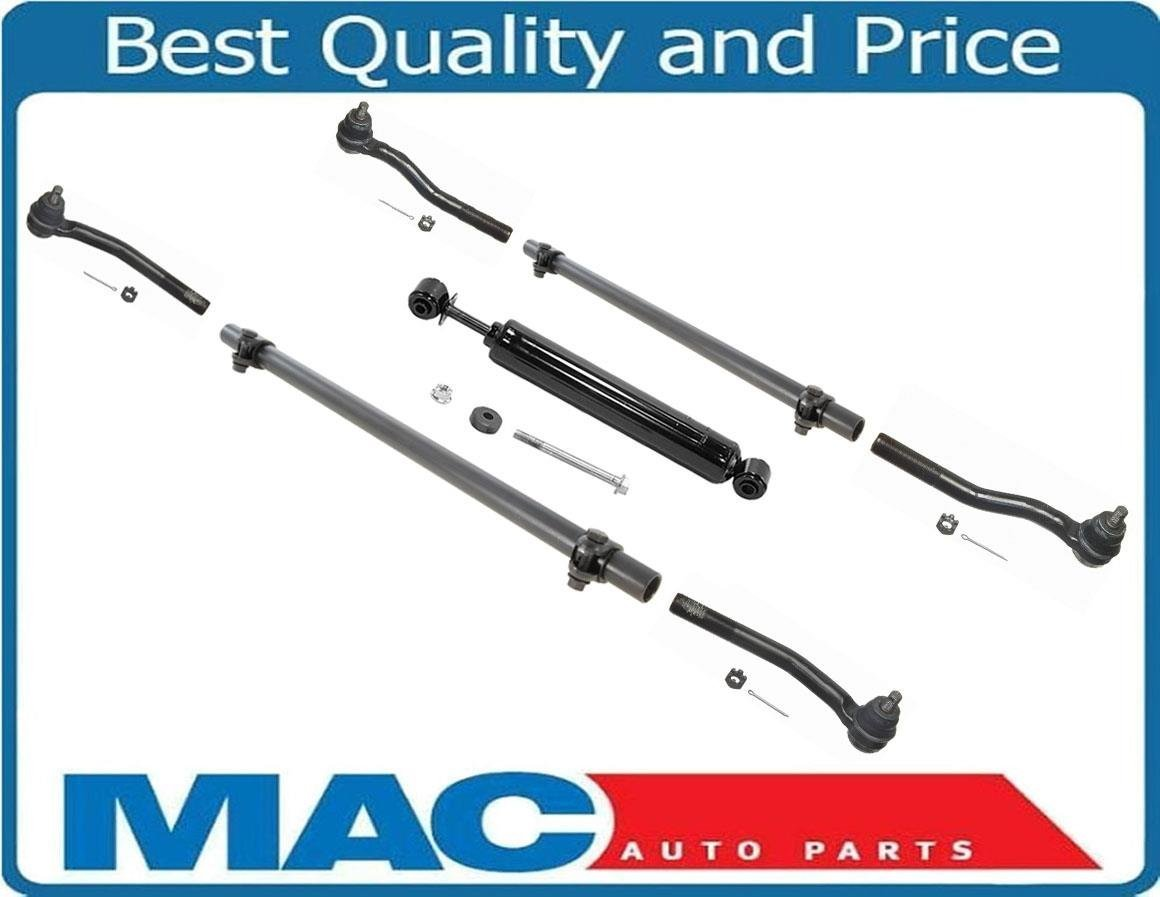 Mac Auto Parts 130451 99-04 Jeep Grand Cherokee Steering Kit Tie Rods Sleeves and Steering Stabilizer