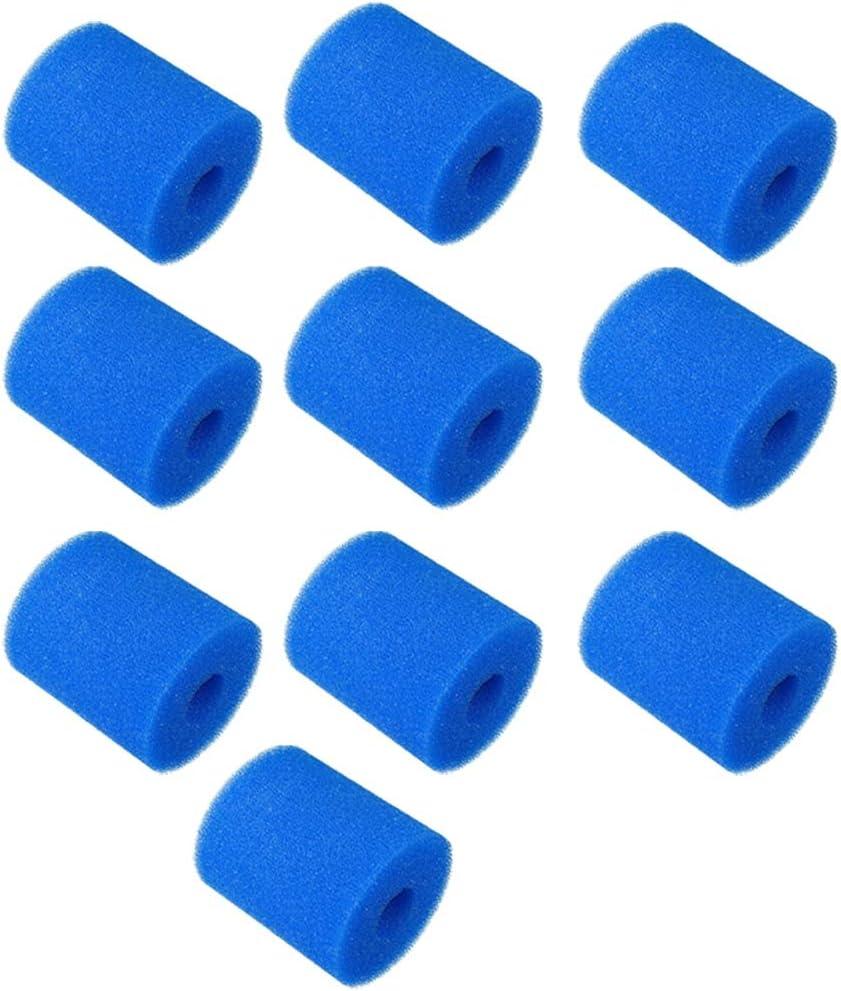 Fanuse 10 Pi/èCes S/éRies Filtre /éPonge Remplacements pour Type H Lavable R/éUtilisable Piscine Filtre Mousse Cartouche /éPonge