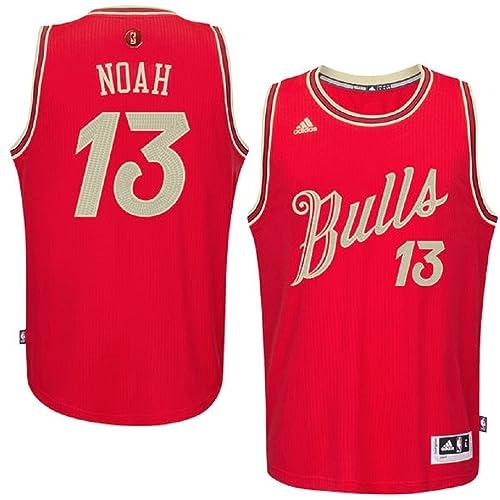 joakim noah chicago bulls 13 nba youth christmas day swingman jersey - Chicago Bulls Christmas Jersey