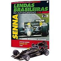 Lotus Renault 97T. Ayrton Senna - Lendas Brasileiras do Automonilismo. 8