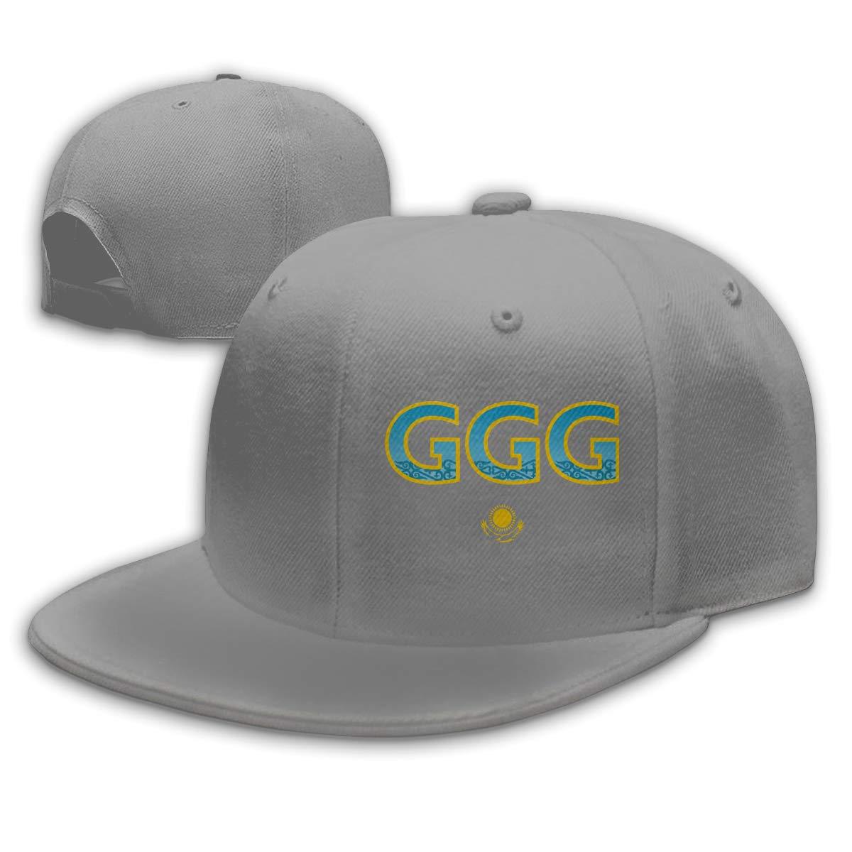 WANGTONG GGG Boxing Unisex Snapback Hats Flat Bill Baseball Cap Dad Hat