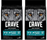 Crave Grain Free Adult Dry Dog Food With Protein From Salmon and Ocean Fish, 4 lb (Pack of 2) For Sale