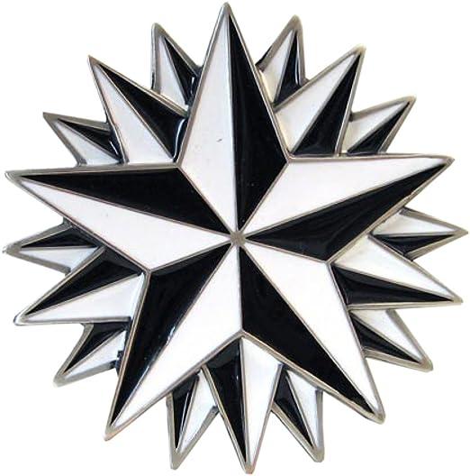 Gürtelschnalle Sailor Buckle mit nautischem Stern Tattoo