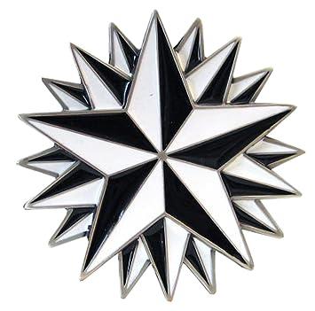 Hebilla con estrellas náuticas, marinero, tatuaje: Amazon.es ...