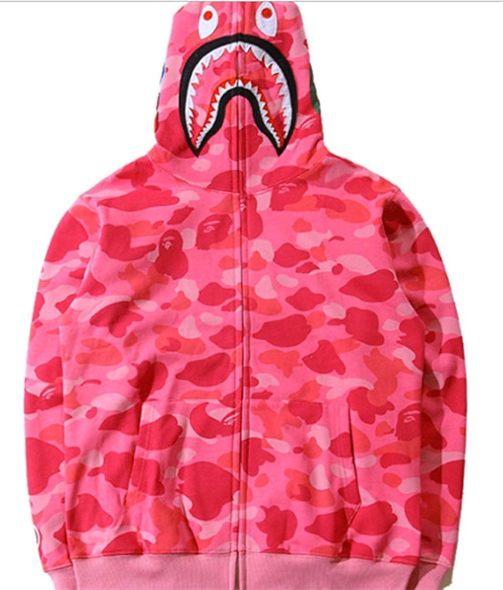 A Bathing  Hooded Jacket Hoodie Full Zipper Sweatshirt Coat Camouflage