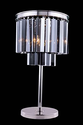 Dimond Lighting 14210 1 Palatial Crystal Fringe Table Lamp