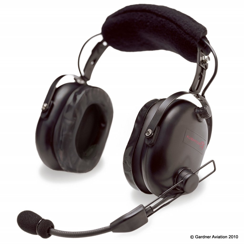 Amazon.com: Flightcom 5DX Classic Aviation Headset: Cell Phones &  Accessories