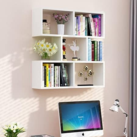 Cdbl Wall Shelf Restaurant Hanging Cabinet Living Room Modern Simple Bookshelf