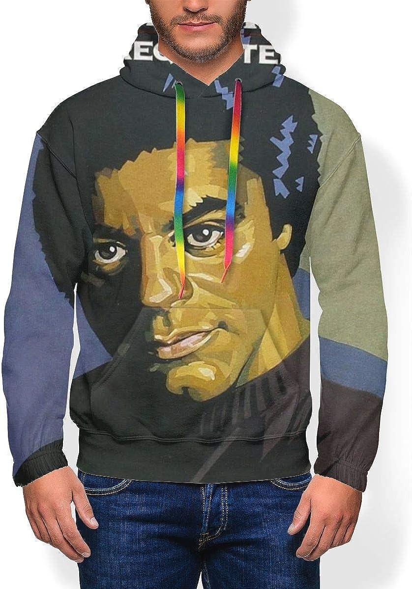 AmyMcLeod Johnny Mathis Mens Hoodies Winter Heavyweight Basic Sweatshirt