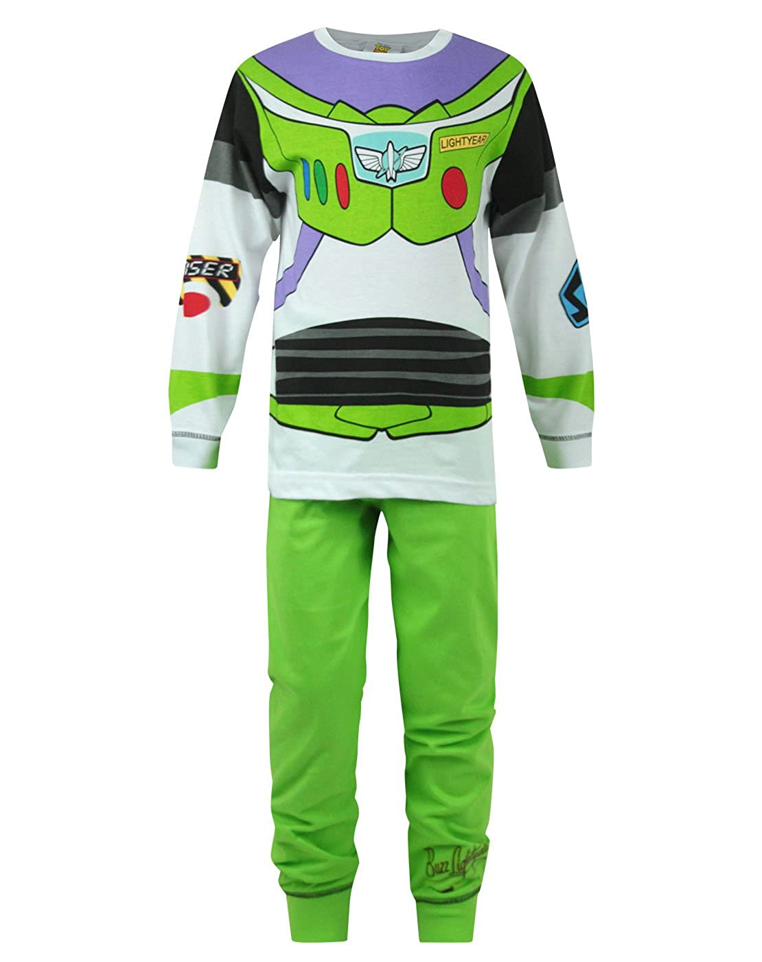 Official Toy Story Buzz Lightyear Outfit Boys Pyjamas