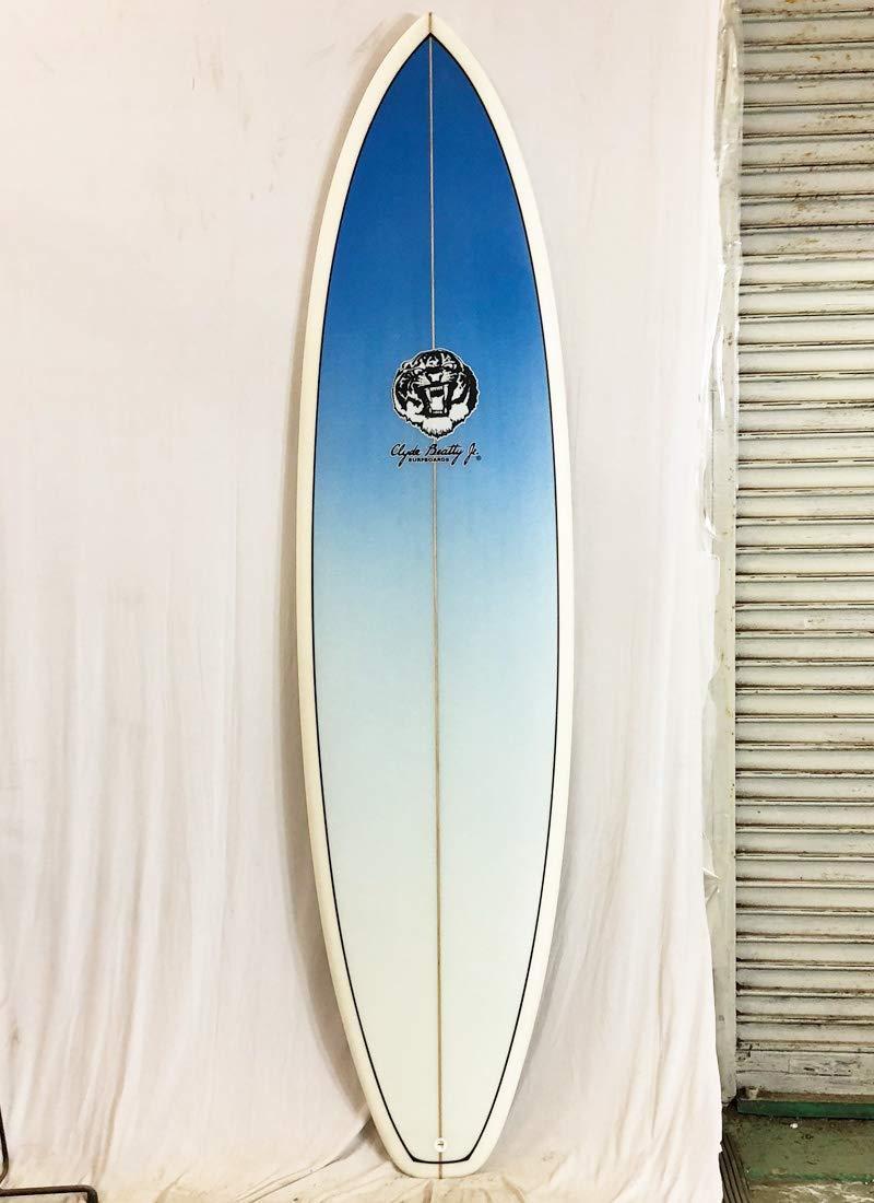 Clyde Beatty Jr(クライドビーティージュニア)サーフボード [clear/Blue] 7'4