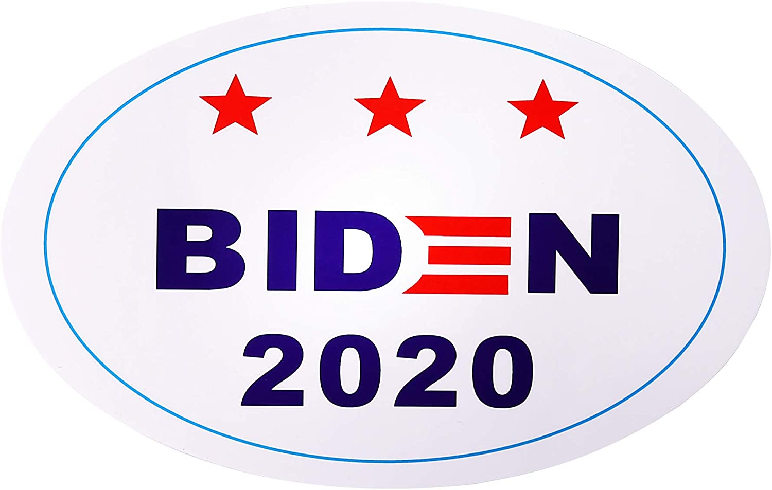 Biden 2020 Sticker PVC Joe Car Bumper Stickers for Presidential Election Window Laptop Sticker Decal 5pcs 5.1 x 3.3 inch
