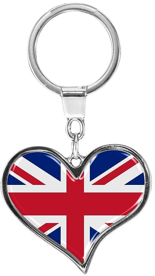 metALUm Llavero de metal/Bandera de Reino Unido / 6611002S ...