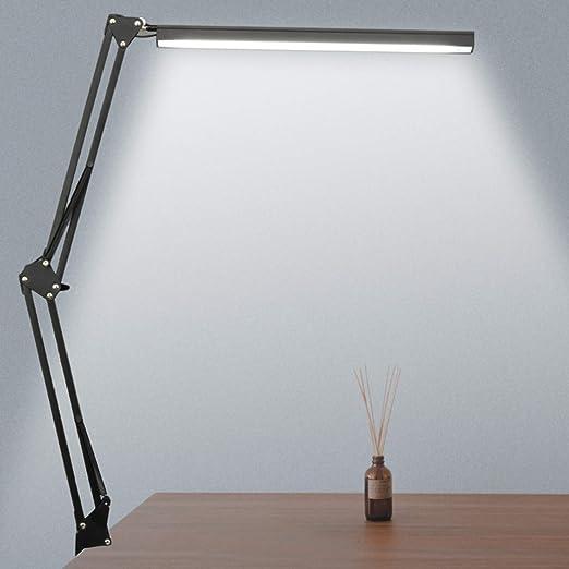 Lampada da Scrivania LED la luminosit/à pu/ò essere regolata Luce da Scrivania lampada da tavolo per la protezione degli occhi dei bambini con tre modalit/à di illuminazione