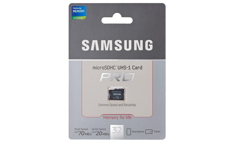 Samsung MB-MGBGB/EU - Tarjeta microSD de 32 GB, Pro Clase 10
