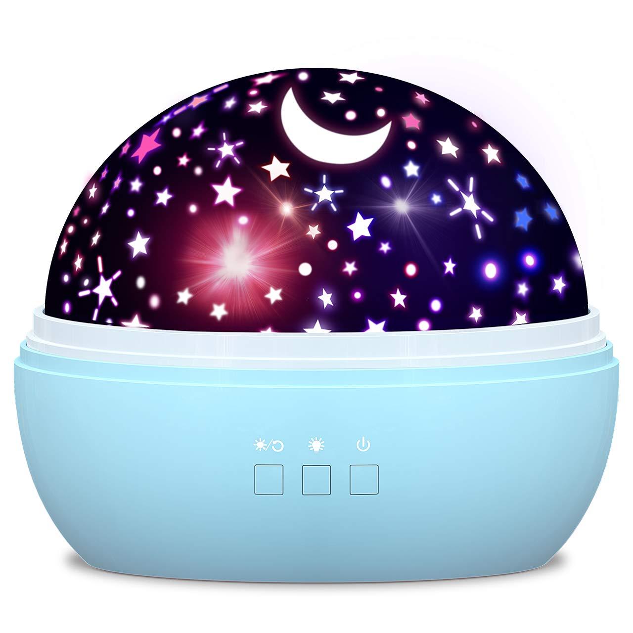 Dreamingbox Sternenhimmel Projektor Nachtlicht für Kinder - Bestes Gechenk