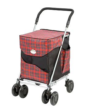 Carro de la compra plegable de lujo Balmoral de Sholley, carrito de la compra fuerte y ...