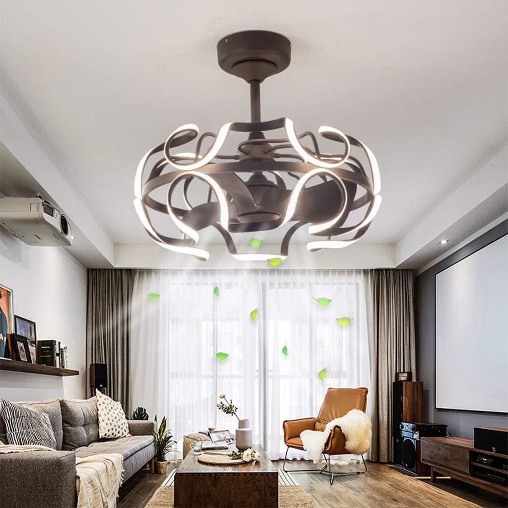 Ventilador De Techo Con Iluminación LED De La Lámpara 3 Ajustable Velocidad Del Viento Regulable Con Control De 130W Llevada Moderna Habitación De Los Niños Habitación Sala De Techo De La Lámpara