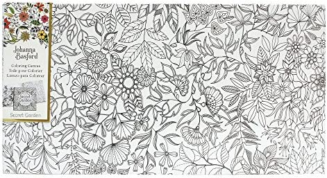 - Amazon.com: Art Alternatives Johanna Basford Secret Garden Coloring Canvas  Floral Landscape: Arts, Crafts & Sewing