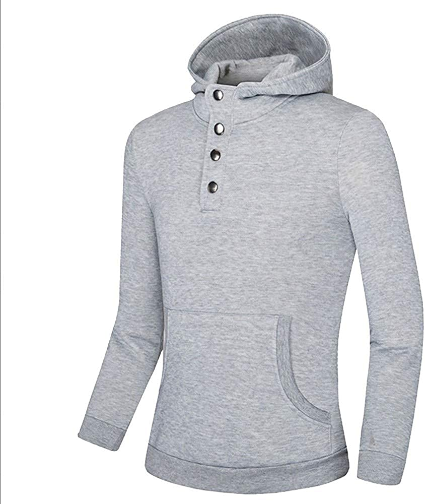 Freely Mens Long-Sleeve Striped Crew Neck Plus Size Sweater Hoodie Top