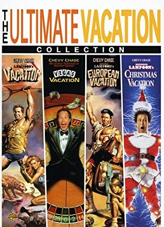 the ultimate vacation collection national lampoons vacation vegas vacation european vacation christmas - Christmas Vacation On Tv
