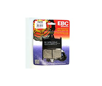 ADLY 300 RS Quad 07-08 EBC ATV Sintered Copper Rear Right Brake Pads FA431R
