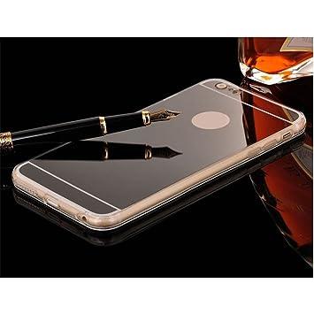coque iphone 7 miroir noir