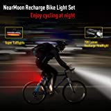 NearMoon 700 Lumens Super Bright Bike Lights