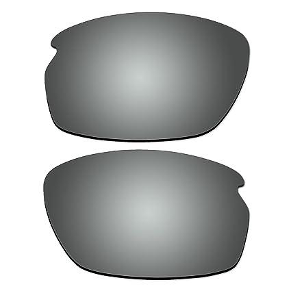 983e7d5145e Amazon.com  ACOMPATIBLE Replacement Titanium Polarized Lenses for Oakley  Carbon Shift Sunglasses  Sports   Outdoors