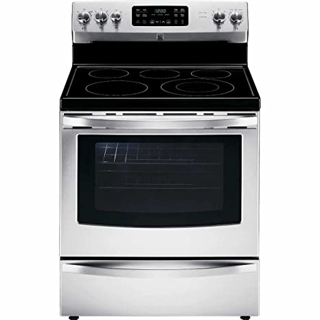 amazon com kenmore 94193 5 4 cu ft self clean electric range with rh amazon com Owner S Manual Kenmore Elite Range Kenmore Elite Stove Manual