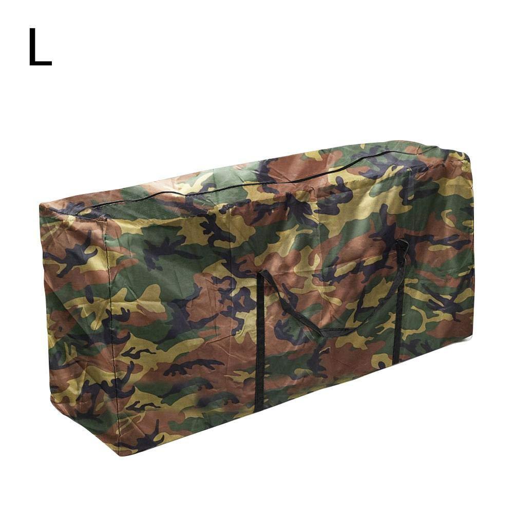 awhao-123 Bolsa de almacenamiento coj/ín impermeable muebles jard/ín al aire libre,bolsa almacenamiento resistente para /árboles,bolsa organizador port/átil para estuche patio,resistente al cute