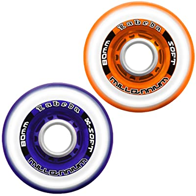 Labeda Gripper Millennium Wheels 4 Pack 2010 72mm X-Soft Purple : Replacement Skate Wheels : Sports & Outdoors