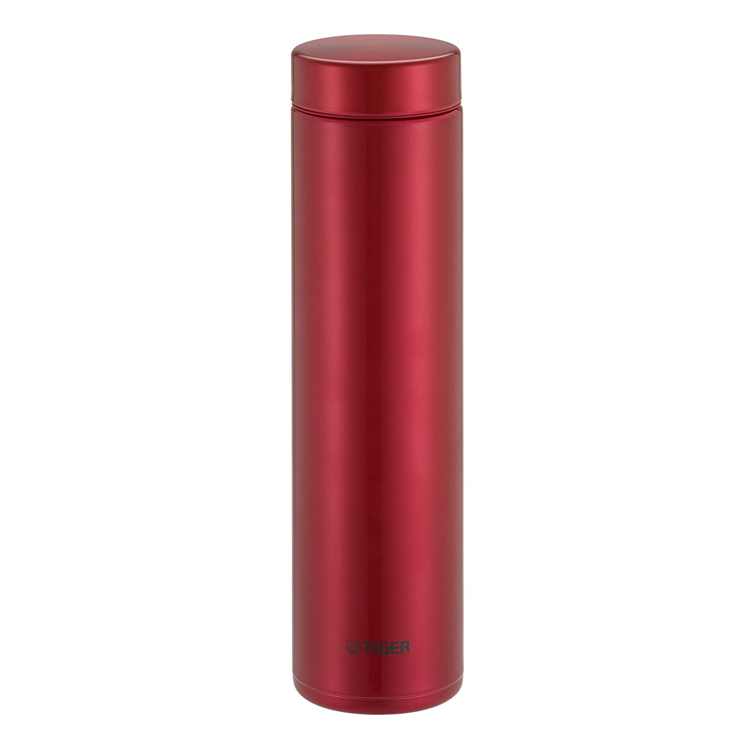 11-Ounce Bright Pink Tiger Insulated Travel Mug