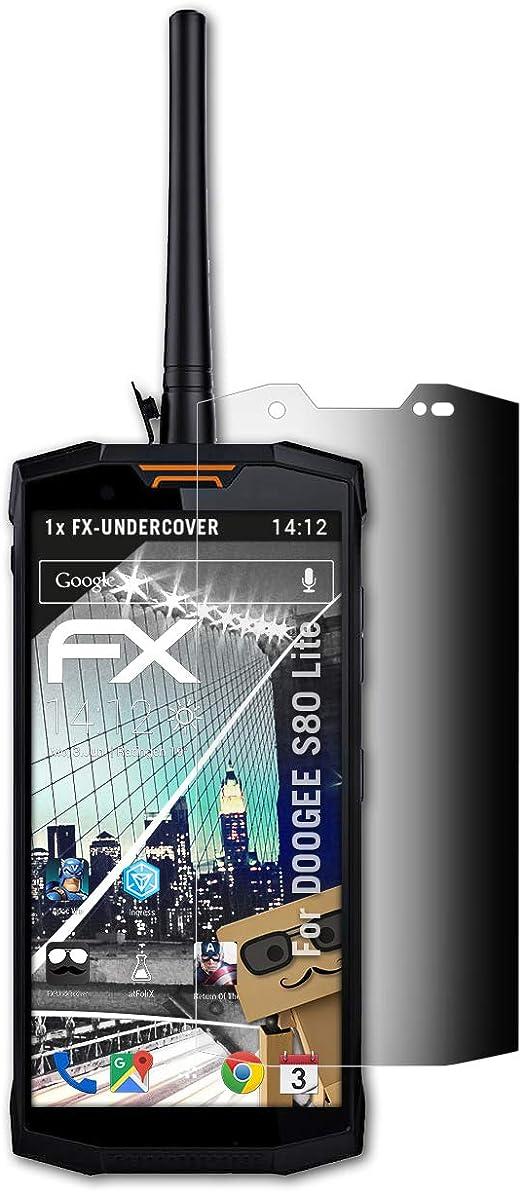 atFoliX Filtro de Privacidad para DOOGEE S80 Lite Película de ...