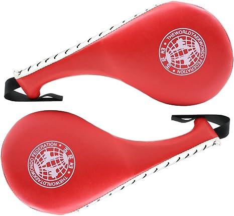 Double Kick Pad Target Pad TKD MMA Taekwondo Exercise Small kicking mitt