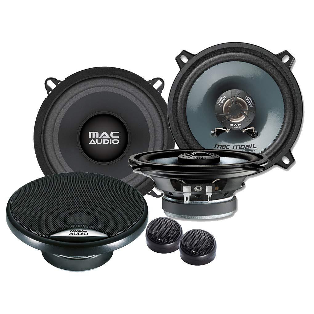 Mac Audio Frontal//Trasera 13/cm//130/mm Auto Altavoz//Cajas//Speaker Set Completo para Renault