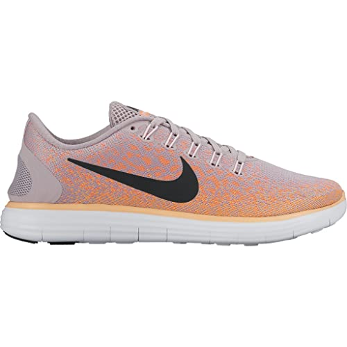 brand new e6a35 86c8b Image Unavailable. Image not available for. Color  Women s Nike Free RN  Distance PEACH CREAM PEARL PINK-FIRE ...