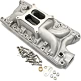 Assault Racing Products PC4001 Ford Small Block Dual Plane Satin Aluminum Intake 1500-6500 RPM SBF 260 289 302