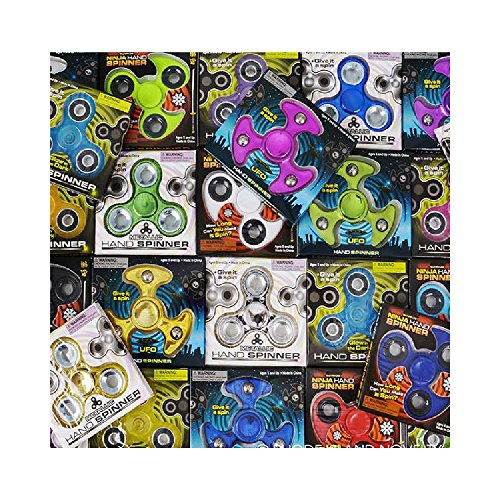 """Price comparison product image 3"""" Hand Spinner Assortment (24Pc / Unit)"""