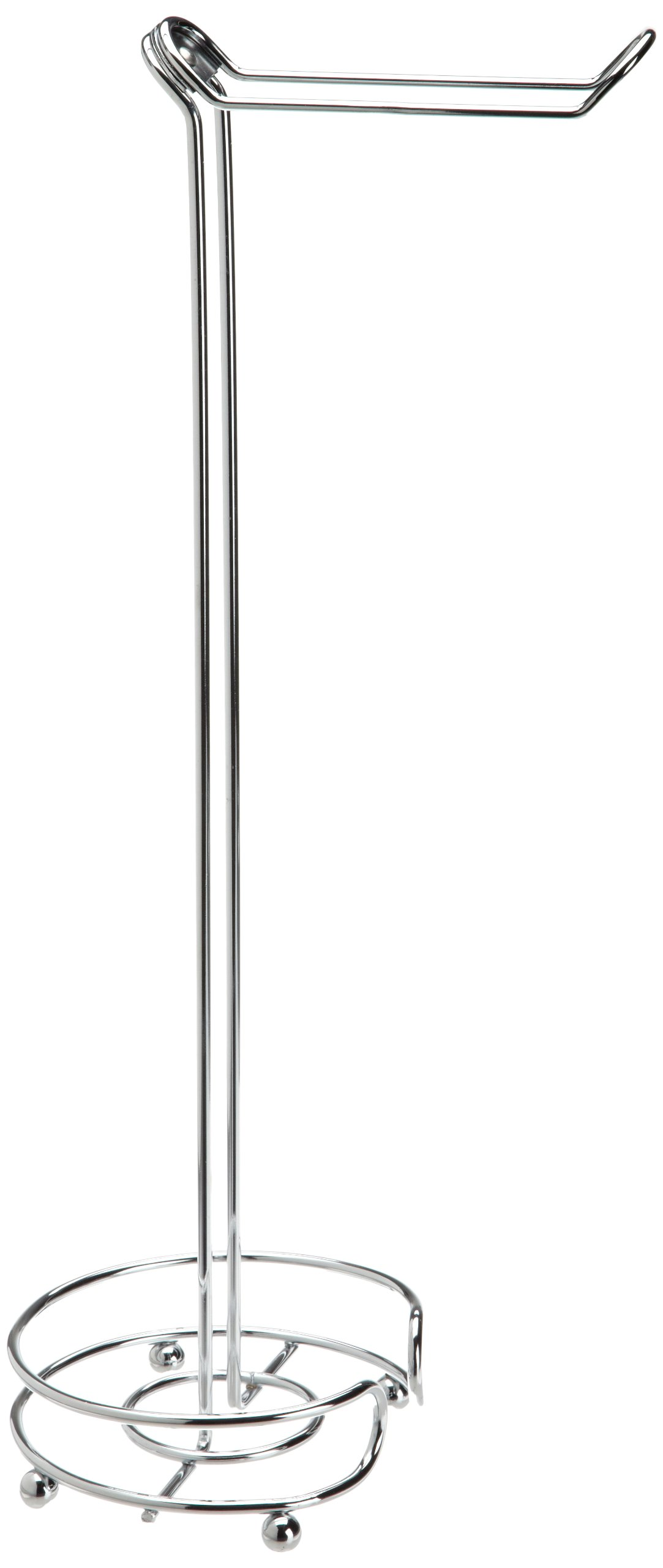 Taymor Flipper Freestanding Toilet Paper Holder, Chrome Finish