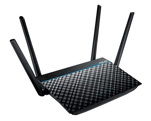 ASUS Dual-Band 2x2 AC1300 Super-Fast Wifi 4-port Gigabit Router with  MU-MIMO and USB 3 0 (RT-ACRH13)