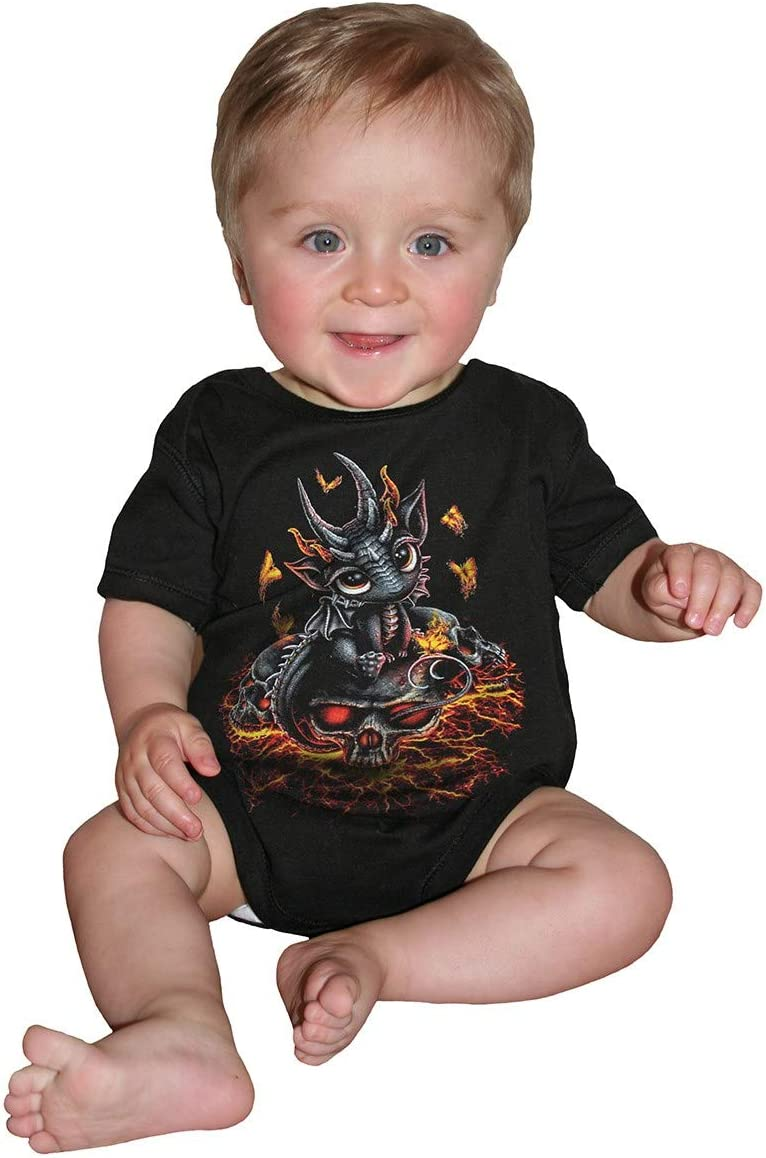 Spiral Stranded X-Small Baby-Boys Baby Sleepsuit Black